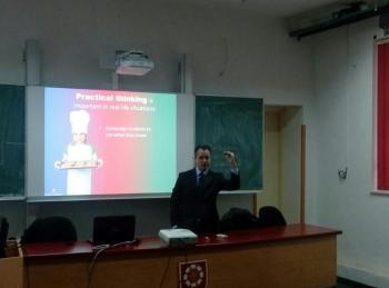 Steve Lever održao predavanje u Trebinju!