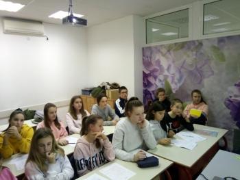 """Učenici Cerovca učestvovali u međunarodnom projektu """"Live Classes"""""""