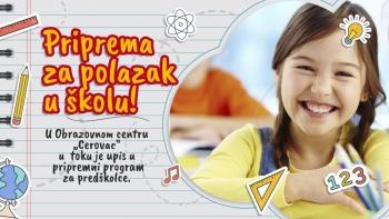 NOVO u Cerovcu - Priprema djece za polazak u školu