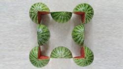 Koliko lubenica vidite na slici?