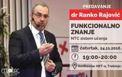 Prof. dr Ranko Rajović dolazi u Trebinje!